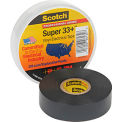 "3m™ Scotch® Super 33+™ Vinyl Electrical Tape, 3/4"" X 66', Black - Pkg Qty 10"