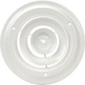Round Ceiling Diffuser 12-1/2 Inch Diameter - Pkg Qty 10