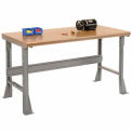 """72 X 30 Shop Top Safety Edge  Work Bench- Fixed Height - 1 3/4"""" Top"""