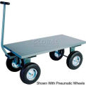 "Steel Deck Wagon Truck 48""L X 24""W With Lip Deck"