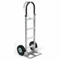 Aluminum Hand Truck Loop Handle Pneumatic Wheels