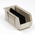 Akro-Mils Divider 40245 For AkroBin® Stacking Bin #184815  Price for pack of 6