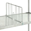"Divider 24""D X 8""H for Solid Shelves"