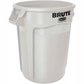 Round Rubbermaid Brute 20 Gallon Trash Container