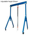 Steel Gantry Crane 10' Fixed Height 2000 Lb. Capacity