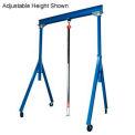 Vestil Steel Gantry Crane FHS-2-10 10' Fixed Height 2000 Lb. Capacity