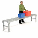 Omni Aluminum Skate Wheel Conveyor Straight Section WAHS3-18-12-10