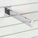 "12"" Slat Wall Accessory Shelf Bracket Tubular"