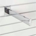 "12"" Slat Wall Accessory Shelf Bracket Tubular - Pkg Qty 6"