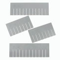 Grid Wall Bin Accessory Bin Length Divider Sold Pack Of 6