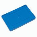 """Lid COV93000 for Plastic Dividable Grid Container, 22-1/2""""L x 17-1/2""""W, Blue - Pkg Qty 3"""