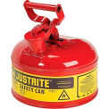 Justrite® Safety Can Type I - One Gallon Galvanized Steel, Red, 7110100