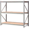 "Extra High Capacity Bulk Rack With Wood Decking 96""W x 24""D x 72""H Starter"