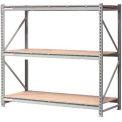 "Extra High Capacity Bulk Rack With Wood Decking 96""W x 48""D x 72""H Starter"