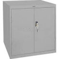 Sandusky Elite Series Desk Height Storage Cabinet EA11361830 - 36x18x30, Gray