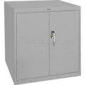 Sandusky Elite Series Desk Height Storage Cabinet EA11361830 - 36x18x30, Gray