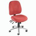 8-Way Adjustable Ergonomic Chair - Burgundy