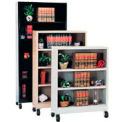 "Sandusky Additional Shelf for 36""W Steel Mobile Bookcase - Sand"