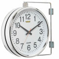 Wall Clock Double Sided Battery Operated