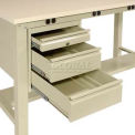 3 Drawer Pedestal For Electronic Workstation