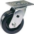 "Faultless Swivel Plate Caster 1461-4 4"" Polyolefin Wheel"