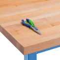 "Square Edge Work Bench Top - Maple 60"" W x 36"" D x 1-3/4"" Thick"