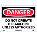 "Safety Signs - Danger Do Not Operate - Rigid Plastic 10""H X 14""W"