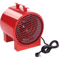 TPI Portable Electric Heater ICH240C - 4000/3000W 240/208V 1 PH Red