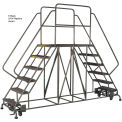 "3 Step Steel Double Entry Mobile Platform - 72""L x 33""W"