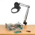 Magnifying Lamp With Halogen Bulb Black