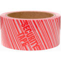 "Heavy-Duty Carton Sealing Tape 2"" X 55 Yards, 2.3 Mil, Printed Security, 36/Pack"