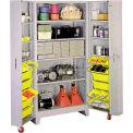 "Lyon Storage Cabinet With Tilt Bins DD1127 - 38""W"