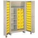"Lyon Storage Cabinet With Tilt Bins PP1128 - 38""W"