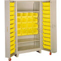 "38""W Storage Cabinet With Tilt Bins"