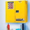 Justrite 2 Gallon Flammable Liquid Cabinet Manual 2 Door Vertical Storage