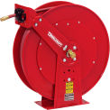 "Reelcraft 82075 OLP 1/2""x 75' 300 PSI Heavy Duty All Steel Spring Retractable Low Pressure Hose Reel"