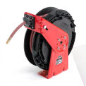 "Reelcraft RT850 OLP 1/2"" x 50' Composite Reel Spring Rewind Hose Reel"