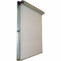 DBCI 8 x 8 White 2000 Series Manual Push-Up Roll-Up Dock Door