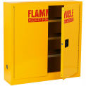 Compact Flammable Storage Cabinet 24 Gallon Capacity