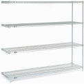 "Nexelate Wire Shelving Add-On 72""W X 18""D X 63""H"