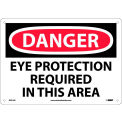Safety Signs - Danger Eye Protection - Aluminum