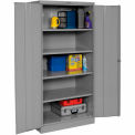 Tennsco Industrial Storage Cabinet 2470-MGY - 36x24x78 Medium Grey