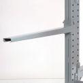 "Cantilever Rack Straight Arm No Lip, 36"" L, 2400 Lbs Capacity"