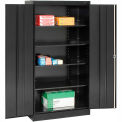 Tennsco Metal Storage Cabinet 1480-BLK - 36x24x72 Black