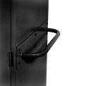 Sandusky Cabinet Push Handle TSH, Black
