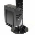 Computer CPU/UPS/Power Supply Holder - Black