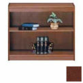 "Unassembled 36""H Contemporary Square Edge Bookcase Medium Oak"