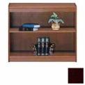 """Unassembled 36""""H Contemporary Square Edge Bookcase Mahogany"""