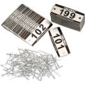 Number Plate Kit - Pkg Of 199 Numbered 101-299