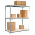 """Additional Shelf With Laminated Deck 48""""W x 24""""D Gray"""